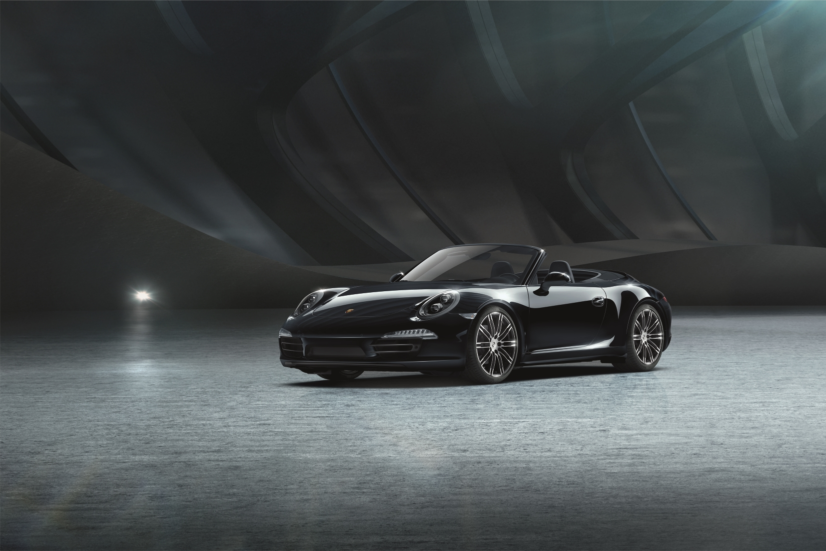 The new 911 Carrera 4 Cabriolet Black Edition